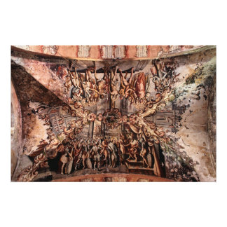 Painting on the Ceiling of Atotonilco Church Photo Print