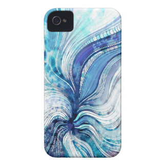 Painting on Watercolor Splatter Texture Cover iPhone 4 Cover