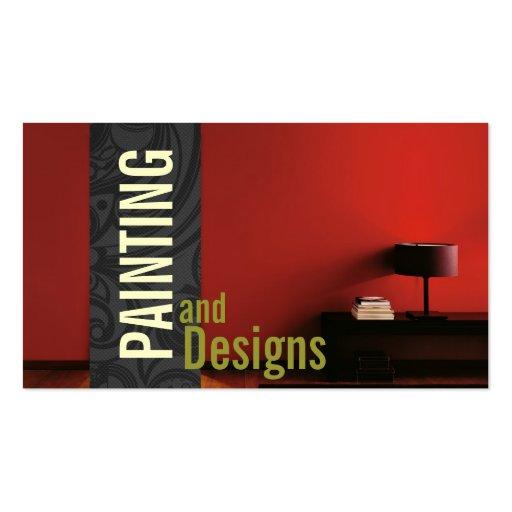 Painting Painter Construction Design Business Card