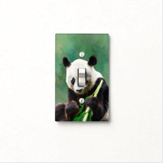 Painting Panda Bear Long Hui Light Switch Cover