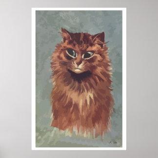 Painting Persian cat n° 4 Poster