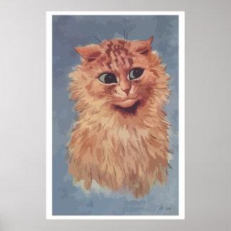 Painting Persian cat n° 6 Poster