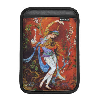 Painting Persian Girl Pouring wine from jug iPad Mini Sleeves
