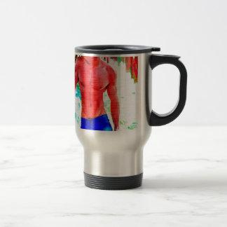 Painting:  Piering Eyes Travel Mug