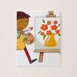 Painting Jigsaw Puzzle