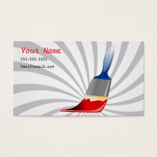 Painting Services Business Card