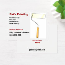 Painting Services Business Cards