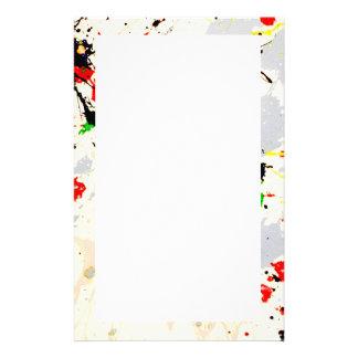Painting Splatter (3) Stationery