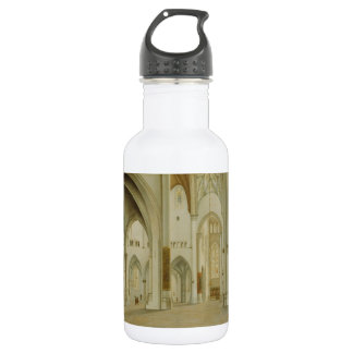 Painting 'St. Bavo' by Saenredam Stainless Steel Water Bottle