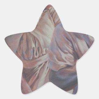 painting star sticker