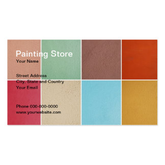 Painting Store Business Card