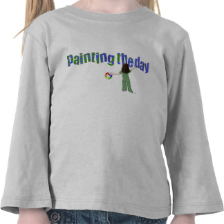 Painting the Day Kids T-Shirt