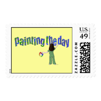 Painting the Day Stamps