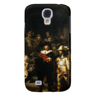 Painting The Night Watch by Rembrandt van Rijn Samsung Galaxy S4 Cases
