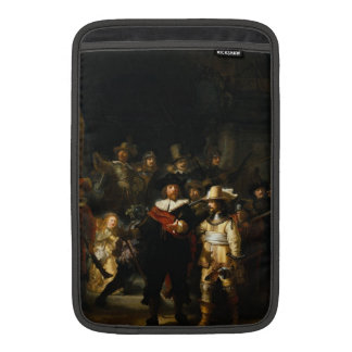 Painting The Night Watch by Rembrandt van Rijn Sleeve For MacBook Air