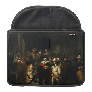 Painting The Night Watch by Rembrandt van Rijn Sleeve For MacBook Pro