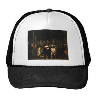 Painting The Night Watch by Rembrandt van Rijn Trucker Hat
