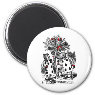 Painting the Roses 2 Inch Round Magnet