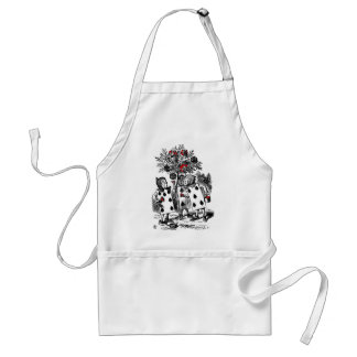 Painting the Roses Aprons