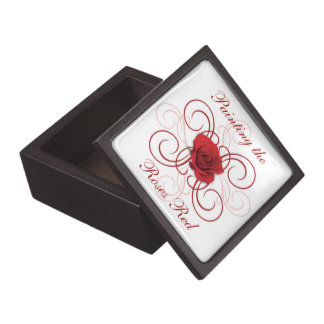 Painting the Roses Red 3 Gift Box