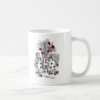 Painting the Roses Red Classic White Coffee Mug