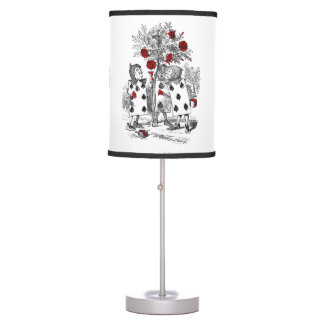 Painting the Roses Red Desk Lamp