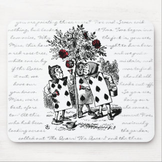 Painting the Roses Red Mouse Pad