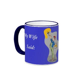 Painting the town Coffee Mug