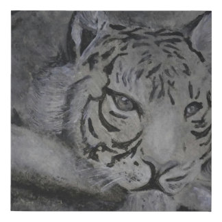 Painting - Tiger Faux Canvas Print