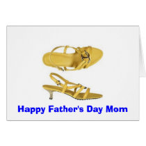 Painting Toe Nails for Father's Day? Card