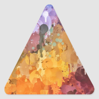 Painting Triangle Sticker