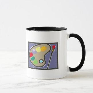 painting - visual arts mug