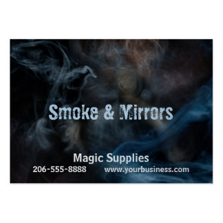 Painting with Smoke Large Business Card