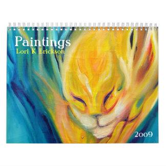 Paintings 2009 Lori K Erickson Calendar