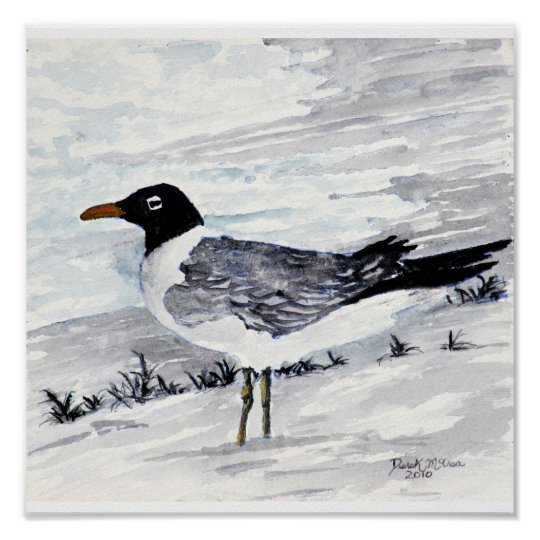 Paintings And Prints Of Seagulls Beach Art Zazzle Com