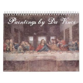 Paintings by Leonardo Da Vinci Calendar