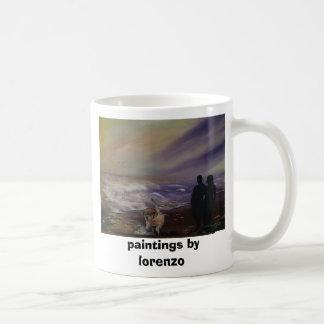 paintings by lorenzo classic white coffee mug