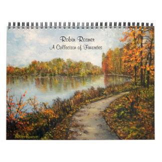 Paintings Calendar 2010