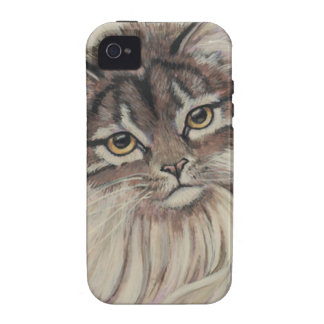 paintings of cats Case-Mate iPhone 4 case
