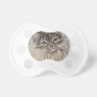 paintings of cats baby pacifier