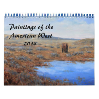 Paintings of the American West Calendar