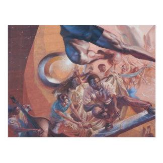 paintings postcard