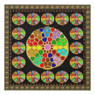 Paintings Reproduction Choose a size Chakra Wheels Panel Wall Art