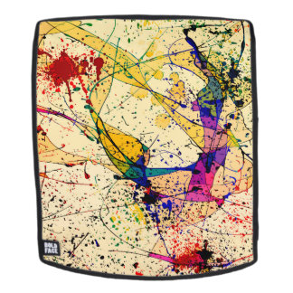 Paints Adult Backpack, Face Only Backpack