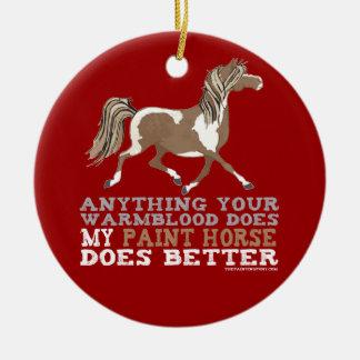 Paints Do it Better Christmas Ornament