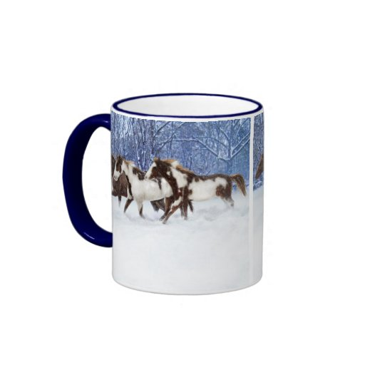 Paints In Winter Coffee Mug