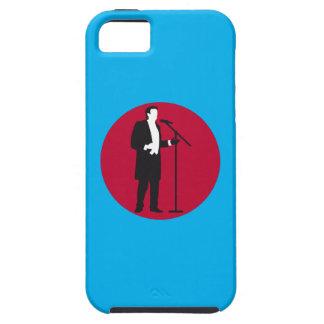 paints opera more singer iPhone SE/5/5s case
