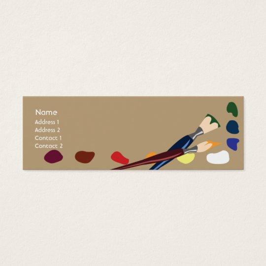 Paints - Skinny Mini Business Card