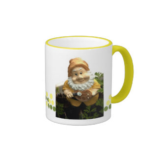 Painty the Garden Gnome Ringer Coffee Mug