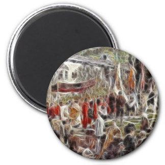 Paintz1 2 Inch Round Magnet